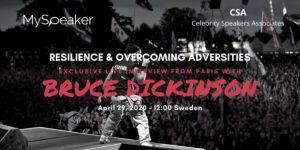 Bruce Dickinson MySpeaker