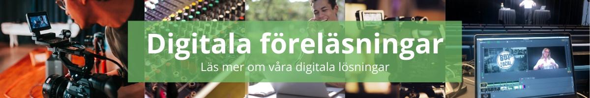 Digitala föreläsningar bannerbild
