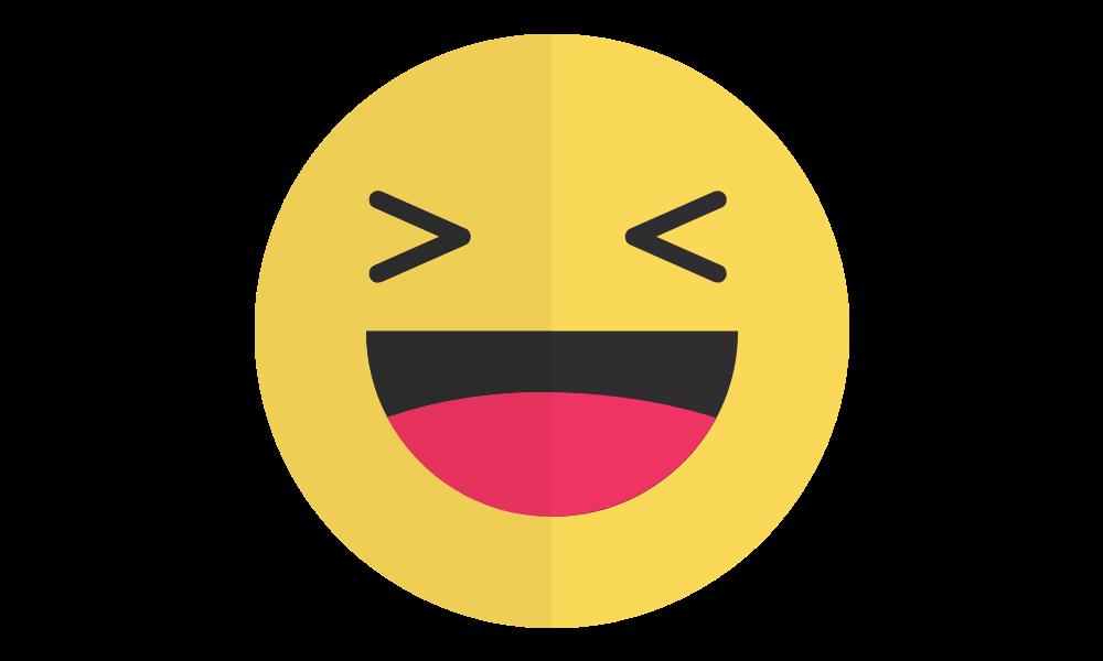 Skratt emoji