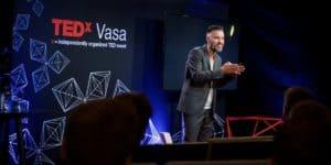 Antoni Lacinai bloggomslag Tedx