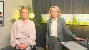 Helene Lidström och Nina Spegel