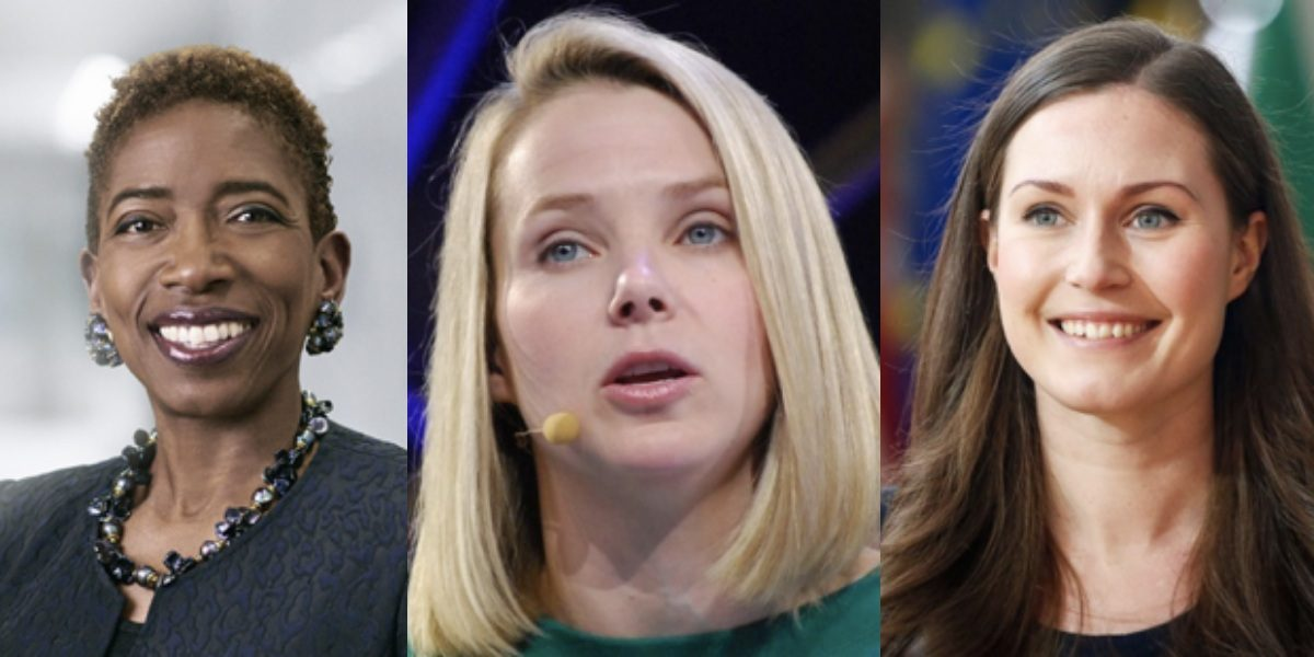 Banner rise of female speakers