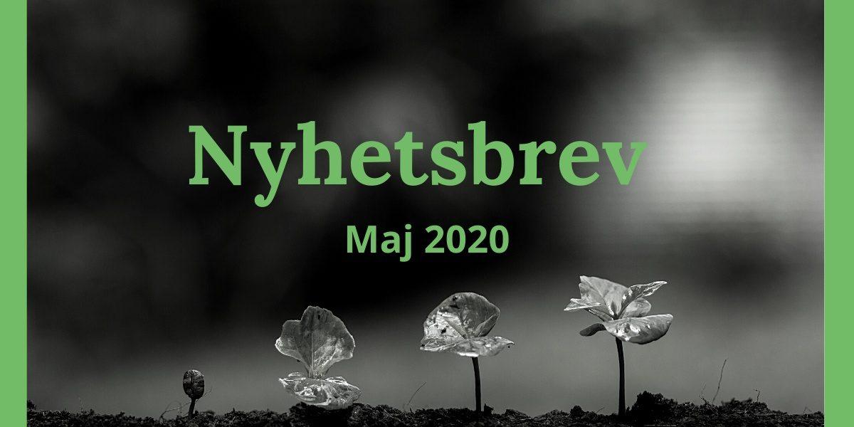 Nyhetsbrev Maj 2020