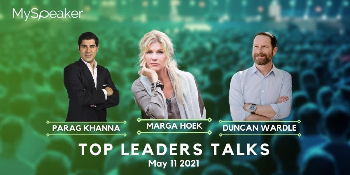 Top leaders talk