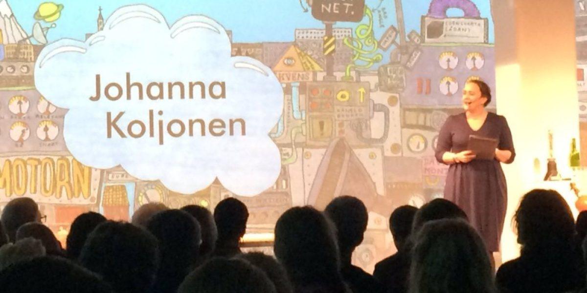 Johanna Koljonen bannerbild